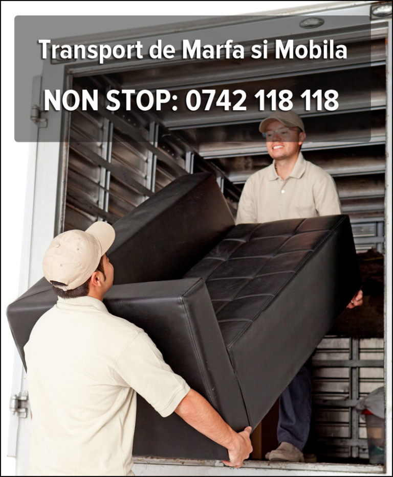 transport marfa mobila